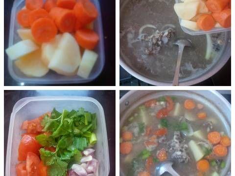 Resep Sop Daging Sapi Rempah Oleh Hanna Faristi Resep Resep Makanan Makanan Dan Minuman Daging Sapi