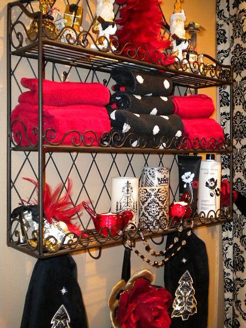 Bathroom Shelf From Decorating My World With Color  House Stuff Inspiration Bathroom Bazaar Design Ideas