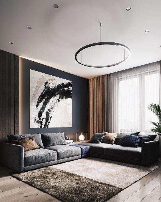 Modern Living Room Inspiring Minimalism Interior Interior Design Examples Interior Design Latest style living room example