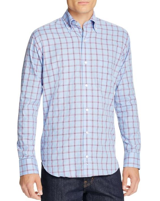 TailorByrd Danube Classic Fit Button Down Shirt