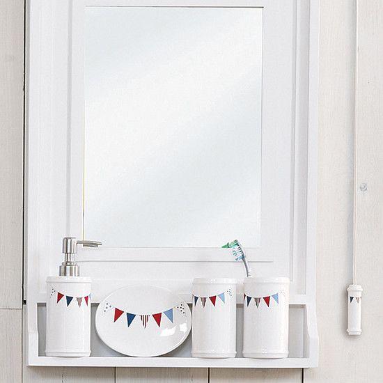 Nautical Bedding Dunelm: Bunting Bathroom Collection