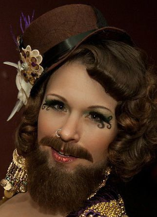Bearded Lady halloween Pinterest Inspiration, Drag queens and - halloween costumes with beards ideas