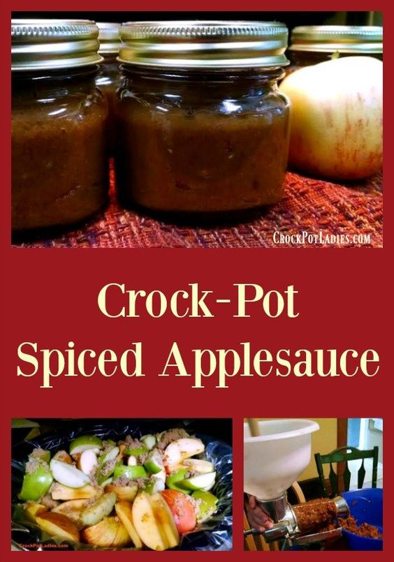 Canning applesauce recipes with fresh apples