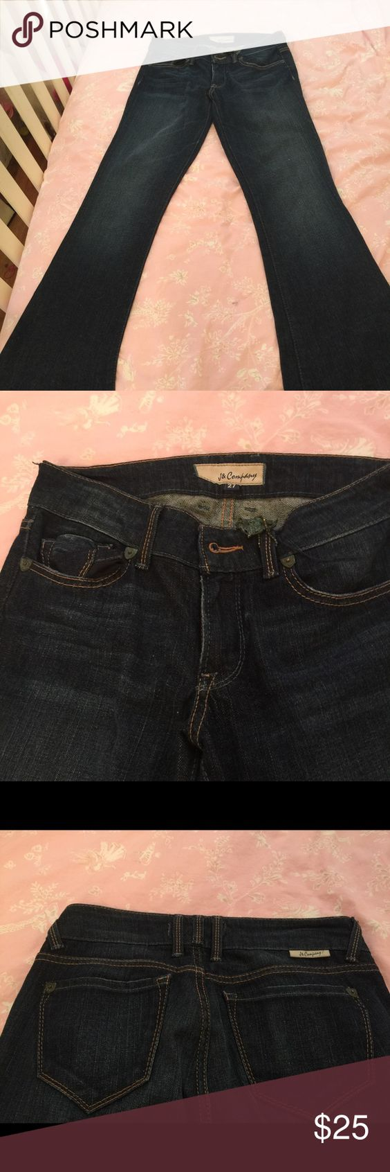 Size 27 New without tags j & company jeans Brand new without tags j and company boot cut jeans j and company Jeans Boot Cut