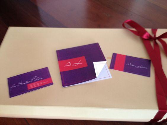 Cartões para uma profissional