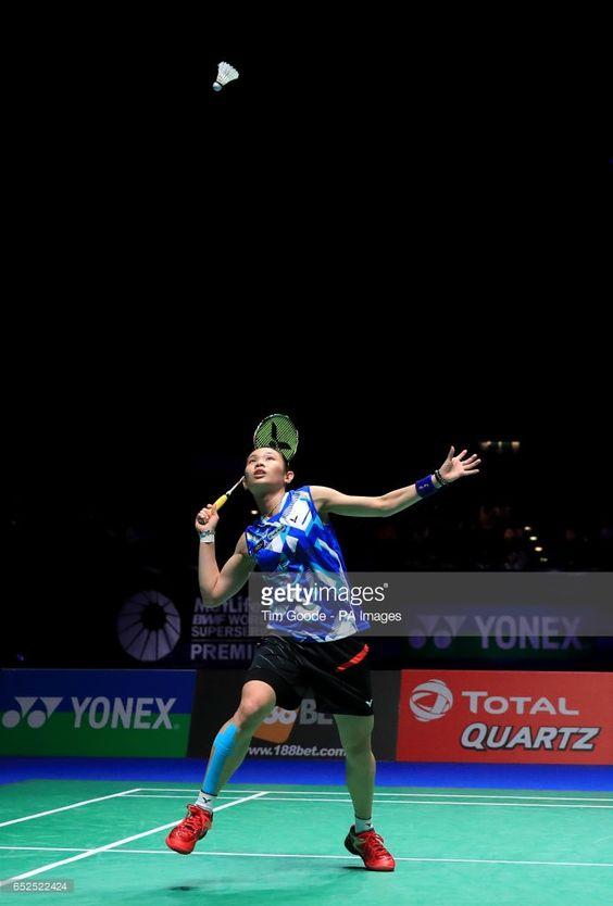 Chinese Taipei S Tai Tzu Ying Against Thailand S Ratchanok Intanon In Badminton Championship Badminton Sport Player