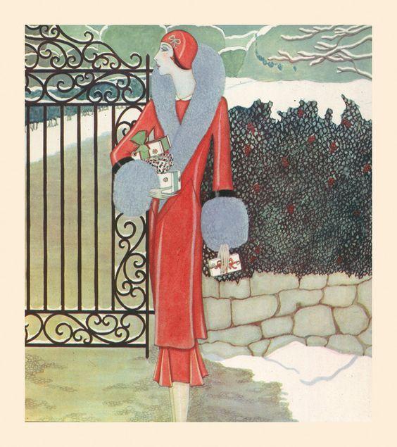 Rhapsody in Red Art Print by Gordon Conway | King & McGaw