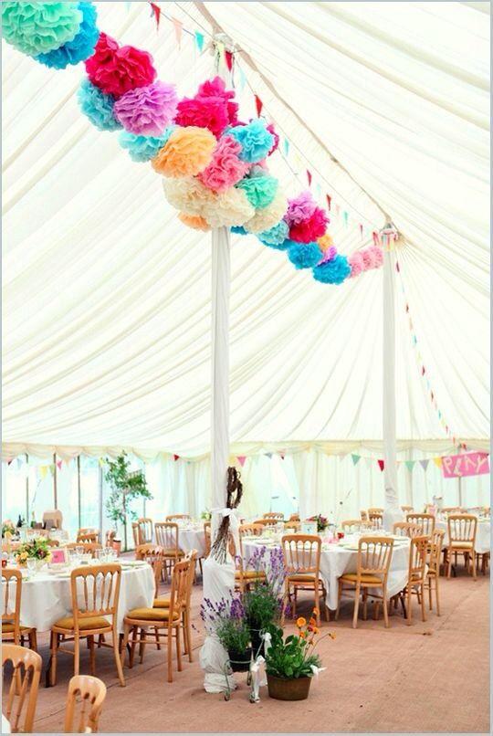 Weddings: ZsaZsa Bellagio - carnival wedding decor