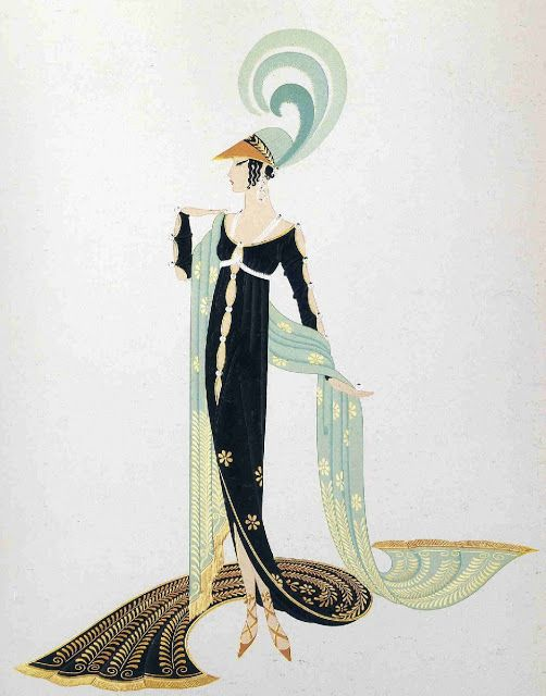 Erte, fashion art deco