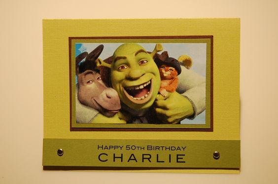 Shrek - Bday Card