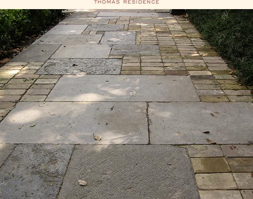 Bricks patio and composition on pinterest for Mixing brick and stone