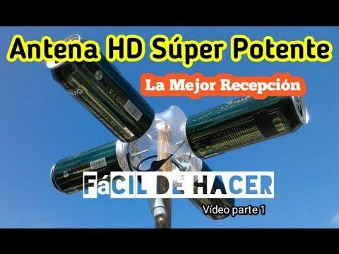 Facil Como Hacer Antena De Television Hdtv Usando Latas De Refresco Y Pvc Youtube Antena Hd Casera Antena Casera Para Tv Antena Hd