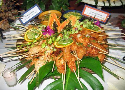 caribbean bridal shower ideas | Bridal Shower Food - The Hungry Bride - Slashfood