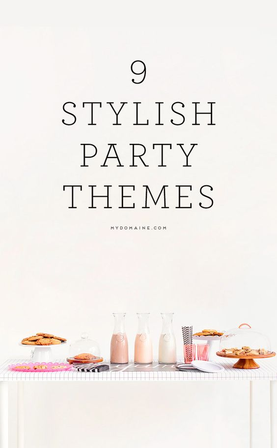 Fun Party Themes Party Themes And Parties On Pinterest