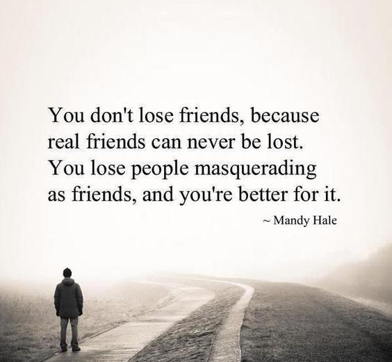 85 Profound Quotes About Losing Friends With Images Losing