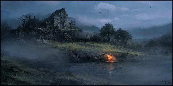 Fog in the Dawn by andreasrocha.deviantart.com on @deviantART