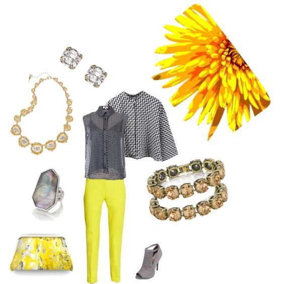 """""""Sunshine and Prints"""" chloeandisabel.com/boutique/jilljones #ladypaower #sunshine #mixedmetals"""