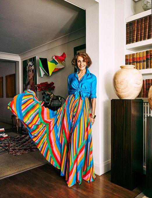 Una vida con estilo: Naty Abascal - Harper's Bazaar