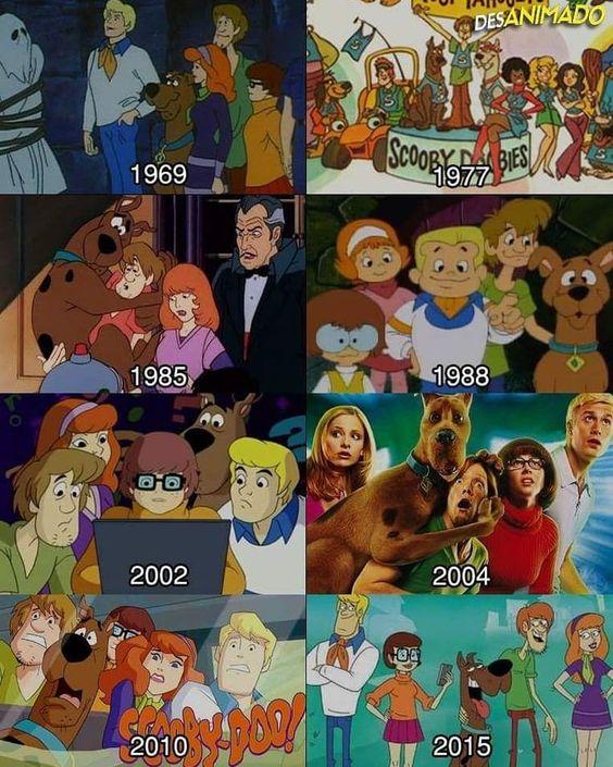 """Tribernna on Instagram: """"Qual é a sua versão favorita da turma do Scooby-Doo?"""