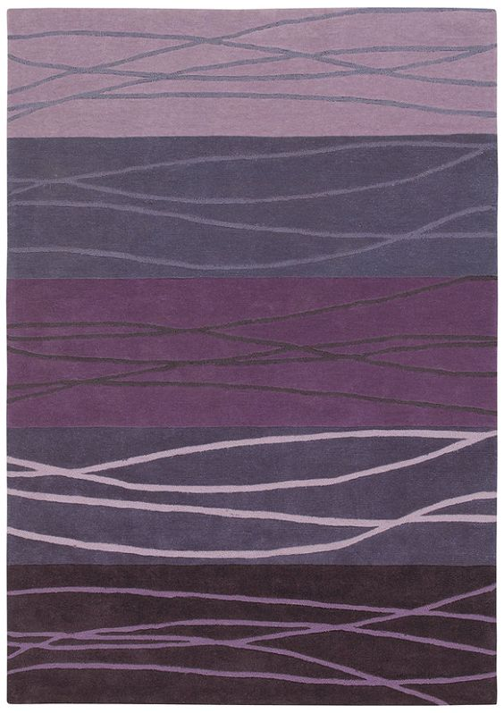 Contemporary purple rug patterns textures 39 n motifs for Purple area rugs contemporary