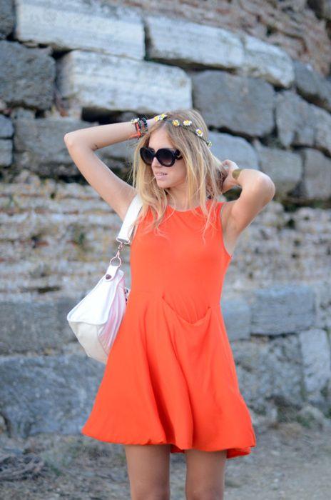 Orange: