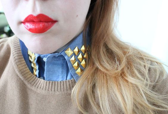 radical possibility: Tell Me About It, Stud - Making a Studded Collar