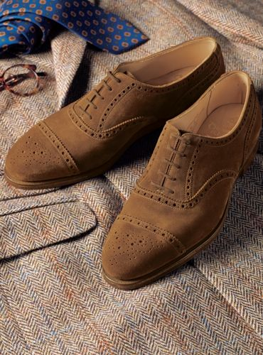 The Westminster in Tobacco Suede
