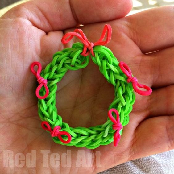 Trees, Loom Bands And Loom On Pinterest