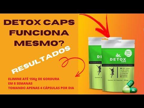 detox caps para quem amamenta