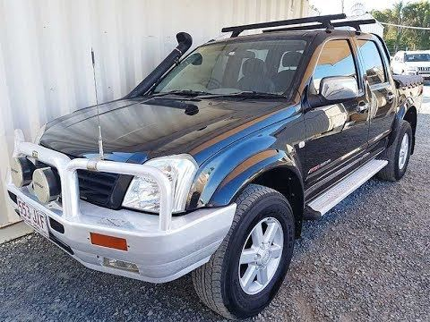 Holden Rodeo 2005 Black For Sale Holden Rodeo Cars For Sale Tonneau Cover
