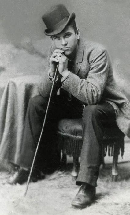 +~+~ Antique Photograph ~+~+  Handsome Victorian Man