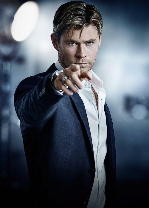 chrisevanas:   Chris Hemsworth by Gavin Bond for... - Stef's Heaven