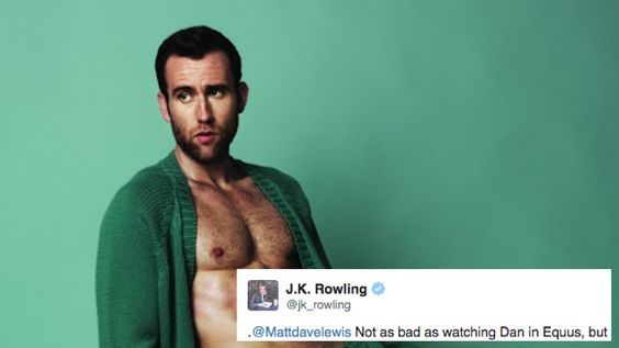 J.K. Rowling saw Neville Longbottom in his underwear, and it got awkward on Twitter.
