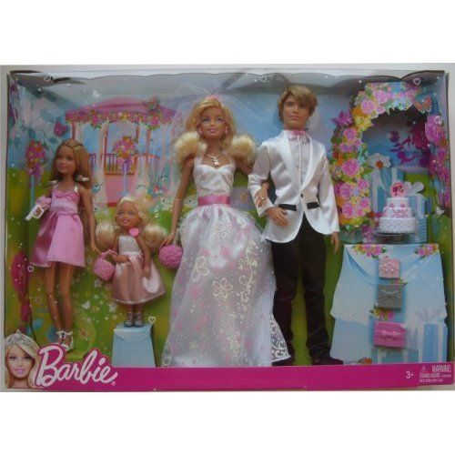 Wedding Gift Set Barbie : Barbie Wedding Set Target barbie i can be bride & groom wedding gift ...