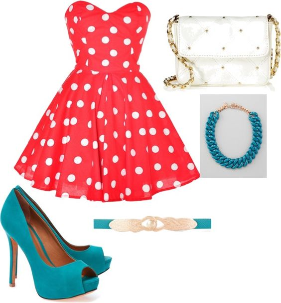 """Pop of colors"" by aimecastro on Polyvore"