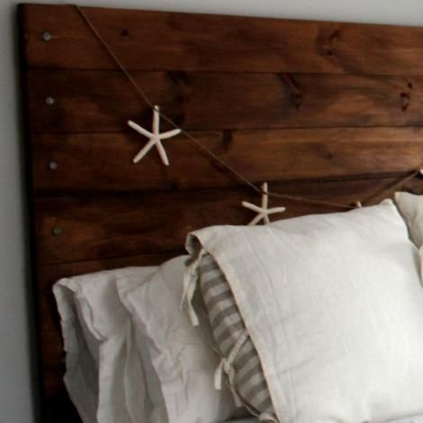 Diy reclaimed wood headboard cases reclaimed wood for Recycled headboards