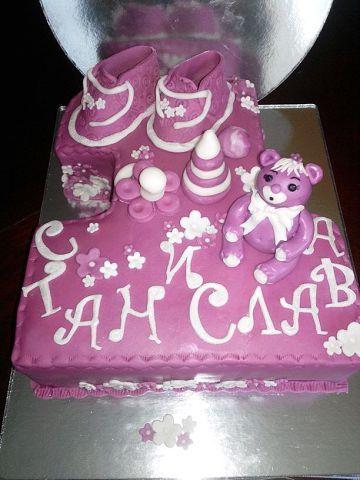 На годик #торт_на_заказ_одесса #для_девочек