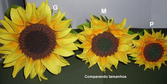 Flor de EVA - Girassol M