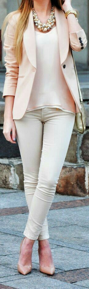 The Minimal classic outfit fashion board for young professional women females…