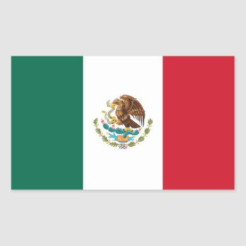 Flag Of Mexico Decal Sticker Zazzle Com Mexican Flags Mexico Flag Flag