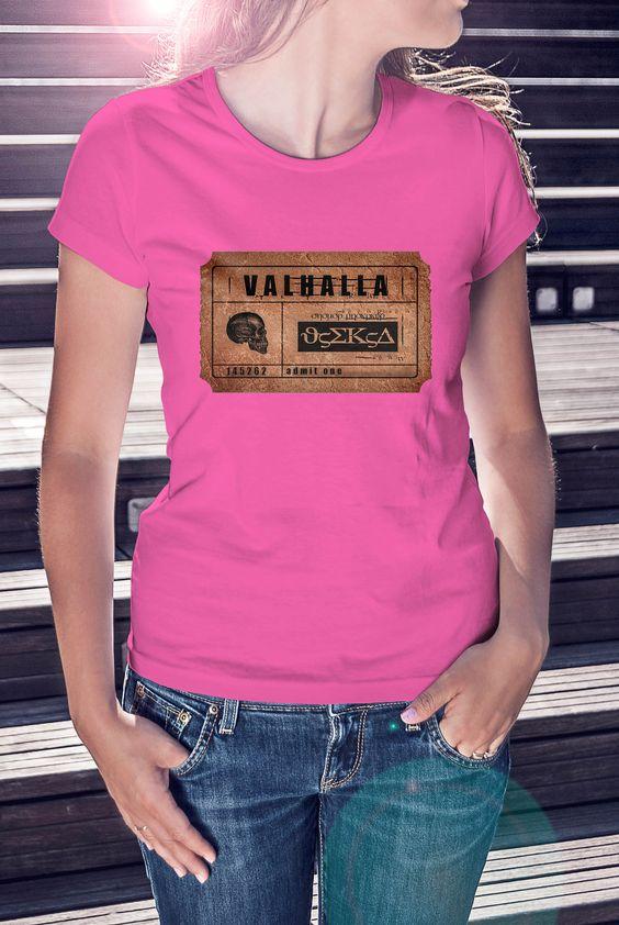 """""""Ticket to Valhalla"""" Women's"""
