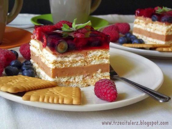 Trzeci talerz: Owocowa chmurka – ciasto bez pieczenia