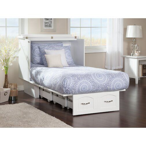 Charles Twin Storage Murphy Bed With Mattress Murphy Bed Plans