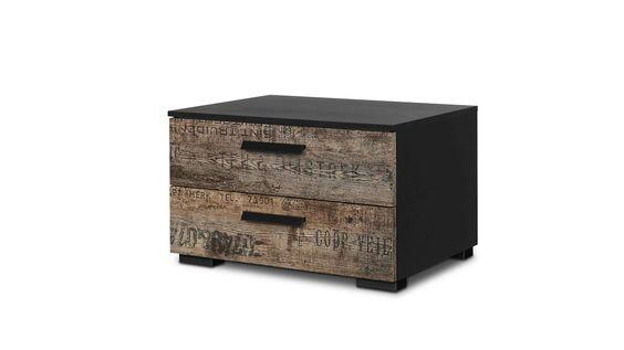 diese stylische rauch select kommode wartet in dem angesagten vintage look auf sie bietet sich. Black Bedroom Furniture Sets. Home Design Ideas
