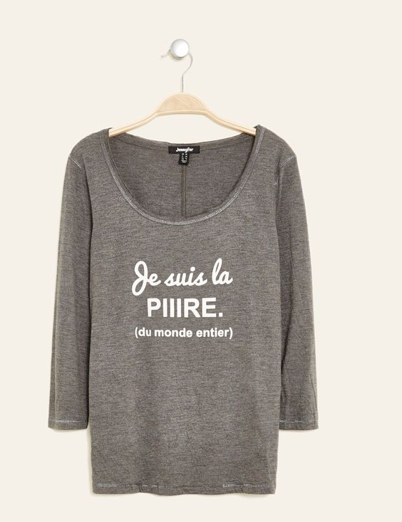 tee-shirt imprimé gris anthracite - http://www.jennyfer.com/fr-fr/collection/tops-et-tee-shirts/tee-shirt-imprime-gris-anthracite-10009871063.html
