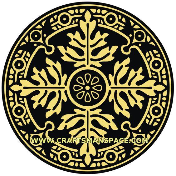 Ornament vectors - Circular shape | Patterns and Motifs 1 ...