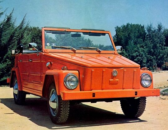 Volkswagon Thing not gonna lie, this is my dream car.