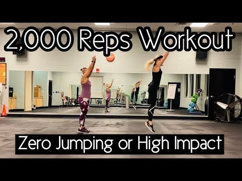 2000 Reps Full Body Workout Zero Jumping Or High Impact Fitness Body Full Body Workout Workout