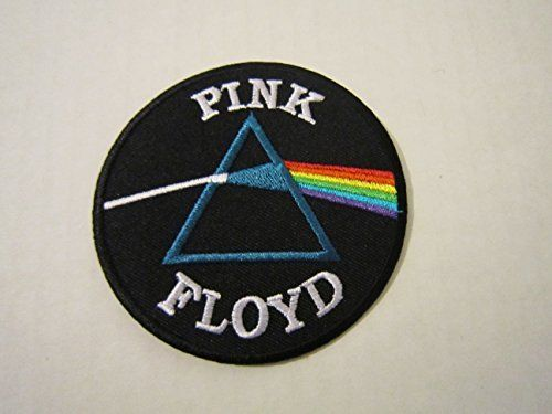 Pink Floyd Rainbow Iron On Sew Applique Embroidered Patches