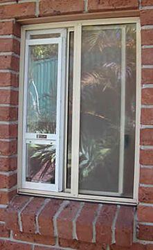Build Your Own Cat Door For A Horizontal Sliding Window. | House |  Pinterest | Sliding Windows, Window And Doors